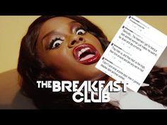 Azealia Banks Feels Men 'HATE' Dark Skinned Women - The Breakfast Club [...