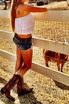 Cute N Country, Country Girl Style, Country Girls, My Style, Farm Clothes, Summer Outfits, Cute Outfits, Summer Clothes, Lily Grace
