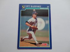 Scott Radinsky 1991 Score Baseball Card.