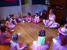 Ballerina Birthdays! Metro DC