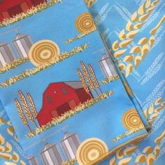 Patterns from my Back 40 collection. Table cloth is the blue wheat chevron and the napkins are the Red Barns. #fabric #fabrics #sew #sewing #misschiffdesigns  #crafty #quilt #quilting #homedecor #interior #pattern #fabric #fabrics #diy #diyfashion #twitter #wrappingpaper #illustrator #decoration #fabricdesigner #mailartist #homedecor #repeatpattern #printdesign #surfacedesign  #spoonflower #interiordesign #maker  #floral  #spoonflowered