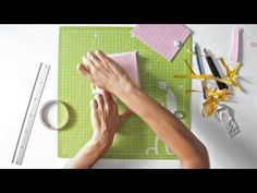 Cómo hacer una carpeta kraft para Traveler's Notebook - TUTORIAL DIY - YouTube