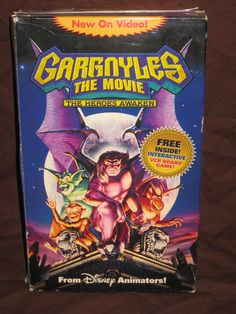 Gargoyles The Movie  The Heroes Awaken VHS by HECTORSVINTAGEVAULT