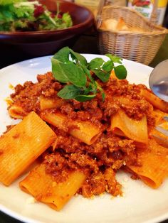 Bistro cosicosi❤︎ Today's Dinner❤︎  ⋈豚肉と牛肉のラグーソース〜Pasta Millerighe(ミッレリゲ)〜  #ビストロコジコジ