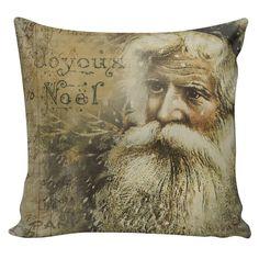 Christmas Pillow Cushion Victorian Santa by ChristmasCountry
