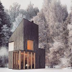 Ski Hut by Fo4a architecture 01