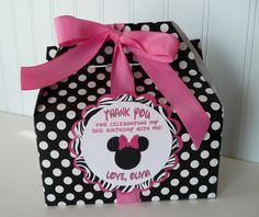 Minnie mouse candy box