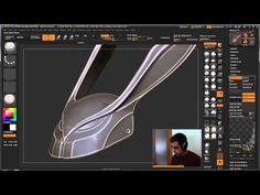 Create Edge Maps in ZBrush - YouTube