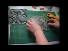 Realizar decoupage en goma eva. Decoupage in foamy - YouTube