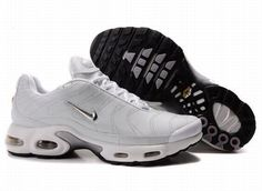 new product 1a9e3 6b16c Nike Air Max 97 Nike Air Max TN White Silver  Nike Air Max TN - Simple  colorway lets the Nike Air Max TN White Silver sneakers become extremely  generous.