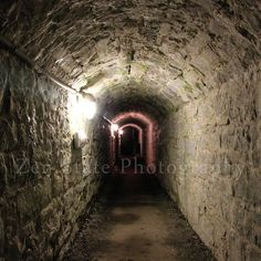 Dark Tunnel Fine Art Print. Spooky Surreal Photography. Surreal Art Print Dark Photography. Unframed Photography Framed Photo Canvas Print by ZenStatePhotography from ZenStatePhotography. Find it now at http://ift.tt/1GswbvR!