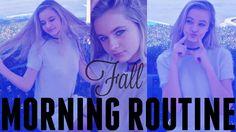 💜 FALL Morning Routine 2016! | Anna Jane Jackson