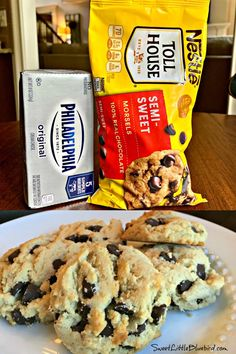 Cookie Desserts, Just Desserts, Cookie Recipes, Delicious Desserts, Yummy Food, Cookie Favors, Best Chocolate Chip Cookies Recipe, Yummy Cookies, Cookies With Chocolate Chips