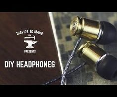 Repurposed bullet shell casings- turn them into the most awesome headphones/ earbuds ever seen! This site also has lots of great DIY projects that are more man friendly. Inspire To Make - - Metal Ammo Crafts, Bullet Crafts, Diy And Crafts, Gay Couple, Bullet Shell, Bullet Art, Bullet Casing Jewelry, Ammo Jewelry, Diy Headphones