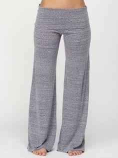 Slub Yoga Pant...SO cute! Wish i was skinny like this!