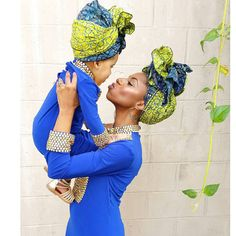 """This is where confidence is birthed. #kaileeandmommy #nationalheadwrapday"" @jfashiongirl87"