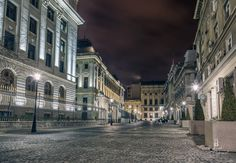 ...... Bucharest, Romania, Street View, Urban, Night, Hate