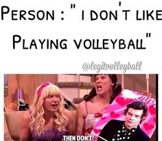 Haha jimmy fallon/ volleyball humor