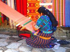 Guatemala City, Guatemala.   The most beautiful hand-made crafts!!