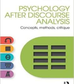 Discourse Analysis Barbara Johnstone Pdf