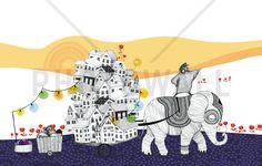Hornstull Elephant - Wall Mural & Photo Wallpaper - Photowall