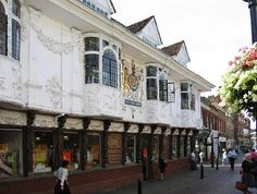 The Ancient House bookstore in Ipswich where my Auntie Pat use to work.
