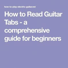 Learning how to read guitar tabs is very simple, look at the picture below to clearly understand the concept. There are six horizontal lines, each line represents a string, the numbers on the. Guitar Tabs Songs, Guitar Chord Chart, Music Guitar, Playing Guitar, Guitar Tips, Learning Guitar, Learning Music, Music Tabs, Easy Guitar