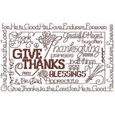 Word Play - Give Thanks - An Ursula Michael Original | OregonPatchWorks