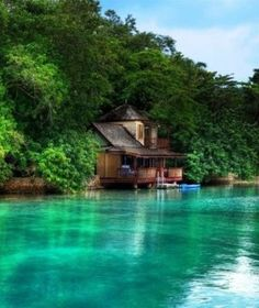 Golden Eye, Jamaica. The writer's paradise where Ian Fleming created James Bond