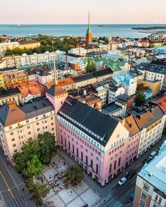 Known for its lively urban feel, is home to a wealth of cool, little shops, great cafes and places to eat! Finland Destinations, North Europe, City Landscape, Lofoten, Travel Aesthetic, Helsinki, Places To Eat, Wonderful Places, Summer Vibes