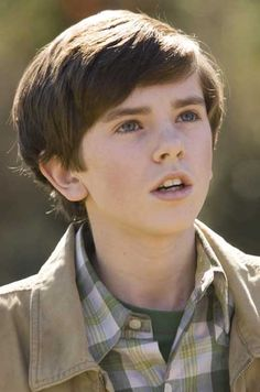 Freddie Highmore in August Rush. Such an awesome movie.