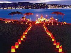 Meu Casamento RN: Casamento na praia! Diferente e criativo