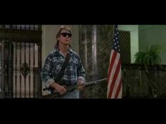 They Live: Roddy Piper say one of the greatest lines in movie history.. then backing it up..