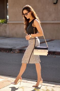 Sexy business clothes, Printed office clothes, Office outfit women, Casual office outfit, Trendy office outfit, Spring office outfit, Chic office outfit #Work #business #workoutfit