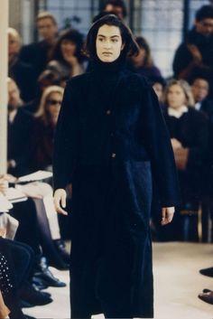 Yasmeen Ghauri - Prada Fall/Winter 1990