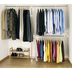Suport telescopic pentru haine Wenko Garment - https://ideidesigninterior.ro/suport-telescopic-pentru-haine-wenko-garment/