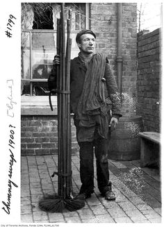 A look back at when Toronto was a city run on coal - Chimney Sweep, 1900