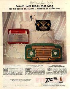 1950s ads for really cool radios