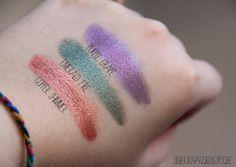 ChriMaLuxe-Minerals in Purple Grape, Emerald Fire, Copper Shimmer