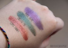 ChriMaLuxe-Minerals in Purple Grape, Emerald Fire, Copper Shimmer