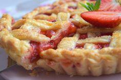 Jahodový mřížkový koláč - Avec Plaisir