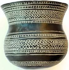Replica of Prehistoric earthenware vessel, which is part of a beaker-culture pottery group from Ciempozuelos (Community of Madrid, Spain) at the National Archaeological Museum of Spain. Ceramic Clay, Ceramic Pottery, Rome Antique, Old Pottery, Paperclay, Historical Art, Iron Age, Arte Popular, Ancient Art