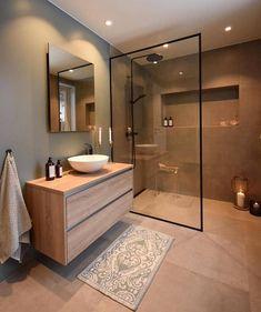 Cozy Bathroom Design Ideas To Help You Rileks Cozy Bathroom, Bathroom Goals, Small Bathroom, Bathroom Ideas, Beige Bathroom, Scandinavian Bathroom, Vanity Bathroom, Bathroom Layout, Bathroom Storage