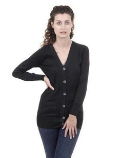 Black S Fred Perry Womens Cardigan 31402080 9102 Fred Perry Cardigan, Style Inspiration, Blazer, Clothes For Women, Long Sleeve, Fashion Design, Shopping, Products, Composition
