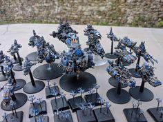 Battlefleet Gothic, Bfg, Warhammer 40k, Libraries, Diorama, Minis, Sci Fi, Miniatures, Models