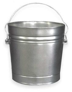 Galvanized Steel Trash Cans by VALUE BRAND - Trash Containers by Zoro Tools Industrial Supplies