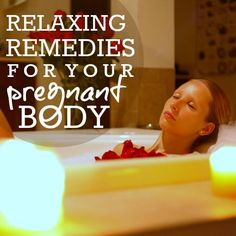 preggo relaxation