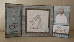 Kreativ sein mit Stempel, Papier und mehr! Frame, September, Home Decor, Paper, Money, Cards, Getting Married, Love, Creative