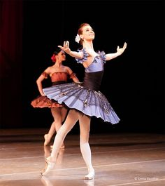 The Mariinsky Ballet's Ekaterina Kondaurova in 'Paquita' - Photo by Emma Kauldhar