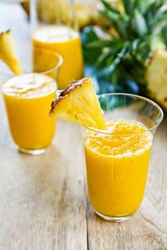 Healing Pineapple Smoothie For Relieving Inflammation & Pain